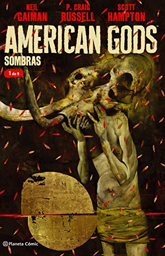 American Gods Sombras nº 01/09 por NEil Gaiman