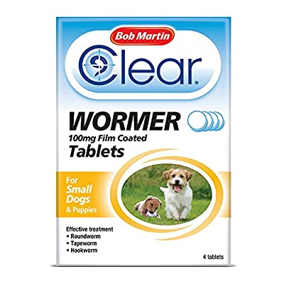 Bob Martin Clear Wormer Tablets For Dogs and Puppies by Bob Martin