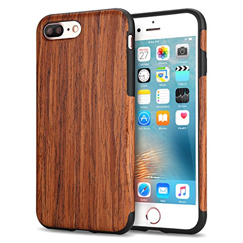 tendlin-funda-iphone-7-plus-grano-de-madera-silicona-tpu-hbrido-suave-carcasa-sndalo-rojo