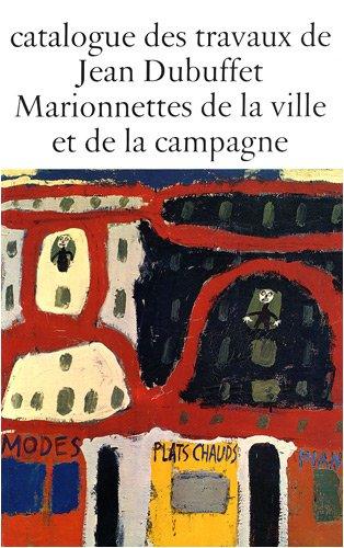 Travaux Jean Dubuffet, fascicule 1 : catalogue par Dubuffet