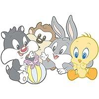 Adesivi Murali Looney Tunes.Amazon It Bugs Bunny Includi Non Disponibili Accessori