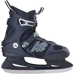 K2 Herren Schlittschuhe FIT ICE – schwarz-grau – 25A0000.1.1
