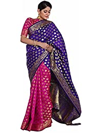 Indian Beauty Silk Saree With Blouse Piece