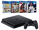 Pack PS4 + FIFA 18 + GTA V + Metal Gear Solid V + Qui es-tu?