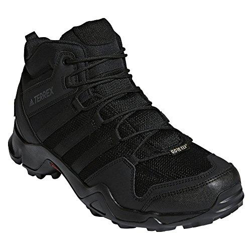 Preisvergleich Produktbild adidas outdoor Mens Terrex AX2R Mid GTX Shoe (7.5 - Black / Black / Black)