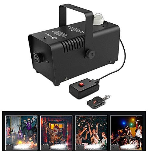 ss 400W Nebel Nebelmaschine Bühneneffekt Disco DJ Party Weihnachten mit Fernbedienung für Home Dance Parties Bar ()