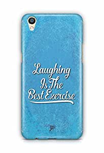 YuBingo Laughing is the Best Exercise Designer Mobile Case Back Cover for Oppo F1 Plus