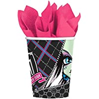 Monster High Birthday Party Cups, Pack of 8