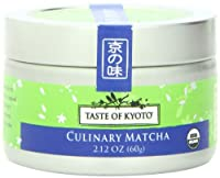 TASTE OF KYOTO Matcha Green Tea, Culinary, 2.12 Ounce
