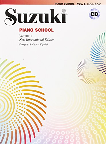 Suzuki piano school. Ediz. italiana, francese e spagnola. Con CD Audio: SUZUKI PIANO SCHOOL 1+CD por Suzuki
