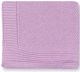 Pirulos 28013013 - Toquilla tricot texturas, 80 x 110 cm, color lila