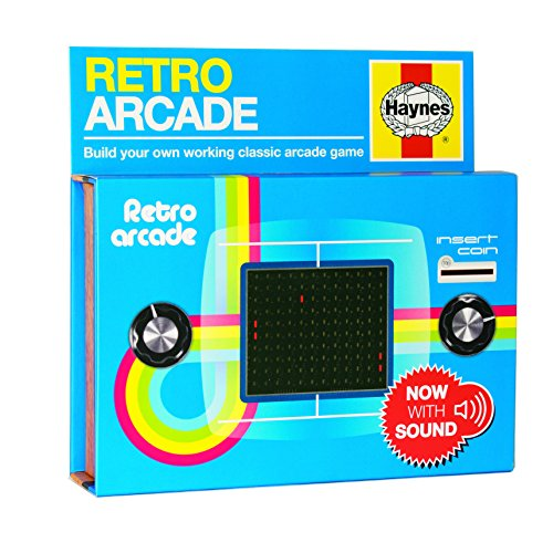 Haynes Retro Arcade Kit - Build your own retro Pong machine!