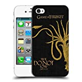 Official HBO Game of Thrones Greyjoy House Mottos Hard Back Case for Apple iPhone 4 / 4S