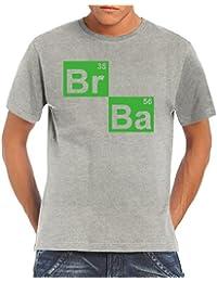 Touchlines Men's T-shirt Br Ba Formel Heisenberg T-Shirt
