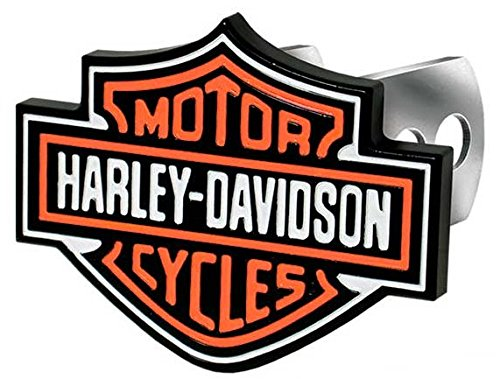 Harley-Davidson PlastiColor 2216 Full Color Hitch Cover (Hitch Cover)