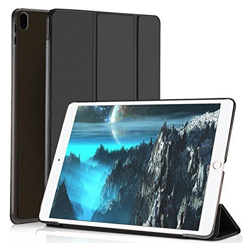 Foto de Funda para iPad Pro 10.5,Función Auto-Despertar/Dormir Utra-Fina Transprecia Media Carcasa,Soporte para iPad,Anti-Golpe Protectora