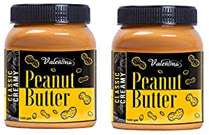valentino Peanut Butter Combo Classic Creamy (500gm+500gm)Pack of 2(1 kg)