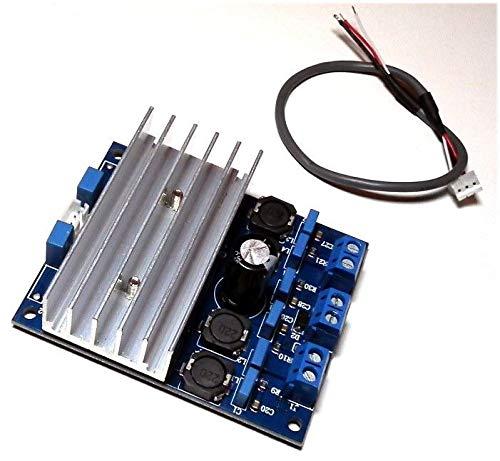 Generic Amplificateur numérique 50 W Classe D Haute Puissance AMP Am TDA7492 2 2 x 50 W D D avec radiateur