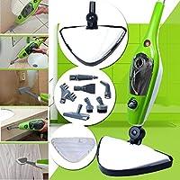CUHProfessional1500W 10 in 1 Multifunction Steam Cleaner Floor Kitchen Handheld Steamer Mop