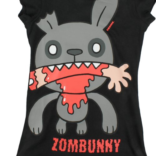 Cosmic Girl-Shirt ZOMBUNNY black Black