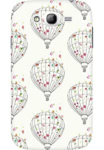 AMEZ designer printed 3d premium high quality back case cover for Samsung Galaxy Grand Neo GT (floral hot air balloon)