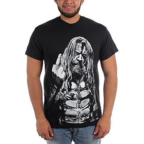 Rob Zombie - - Fuck Off camiseta de los hombres de