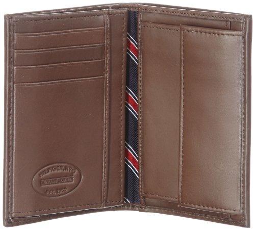 Tommy Hilfiger ETON N/S WALLET W/COIN POCKET BM56921064, Herren Geldbörsen 13x10x2 cm (B x H x T) Braun (Dark Brown 201)