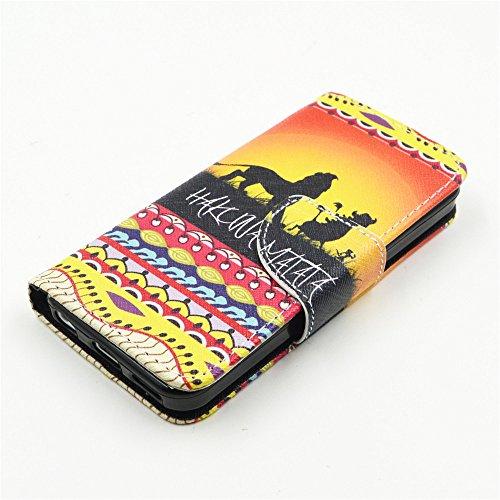 Nutbro [iPhone 5C] iPhone 5C Cases,iPhone 5C Case,Leather Case,Wallet Case,Wallet Leather Case Cover,Flipcase Wallet Carry Leather Skin Cover Case HX-5C-2
