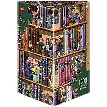 Heye - Heye-29234 - Puzzle Classique - Books - Kravarik  - 1500 Pièces