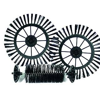 Cyclonic Broom Kehrmaschine Tupfer Spinnen Sauberer Boden 360° Leicht zusammenzubauen Schwenken Griff Erreiche alle Spots (Extra Bürsten)
