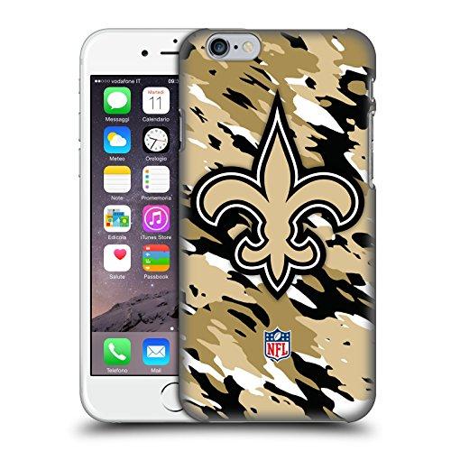 Offizielle NFL Fussball New Orleans Saints Logo Ruckseite Hülle für Apple iPhone 5 / 5s / SE Camou
