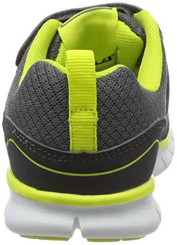 Gola Jungen Termas 2 Outdoor Fitnessschuhe Grau (Charcoal/Grey/Volt)