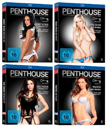PENTHOUSE Super Set 1 (4 Blu-rays mit sexy PENTHOUSE Pets)