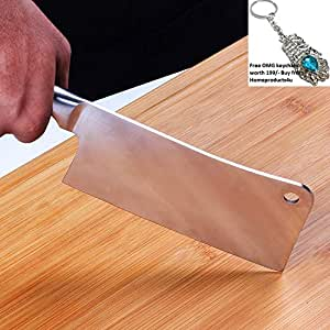 Homeproducts4u Stainless Steel Chopper + A FREE KEYCHAIN
