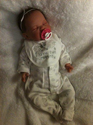Kinder Reborn Baby Mädchen Puppe, 48,3cm lang, Neugeborene,, real, eingeschlafen, schwere, UK Verkäufer
