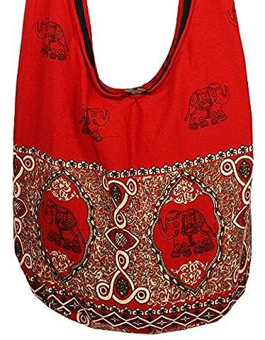 Rosina 's Hippie Boho New Elephant Crossbody Bohemian Gypsy Sling Shoulder Bag