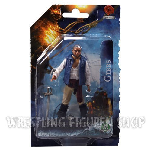 Pirates Of The Caribbean 4 - On Stranger Tides 10cm Figure: Gibbs