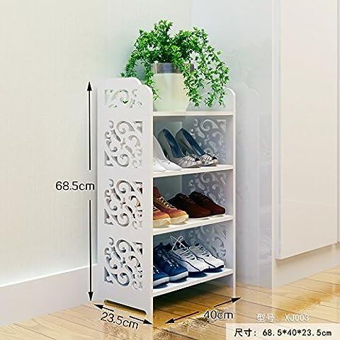 Europeo - stile semplice scarpiere bagno Librerie soggiorno camera da