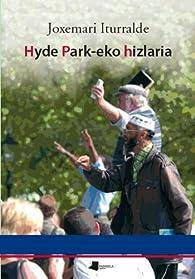 Hyde Park-eko hizlaria par Joxemari Iturralde