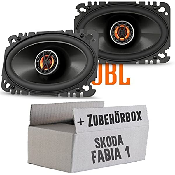 Jbl Club 6420 2 Wege 4 X 6 Koax Oval Lautsprecher Einbauset Für Skoda Fabia 1 6y Kombi Combi Heck Just Sound Best Choice For Caraudio Navigation