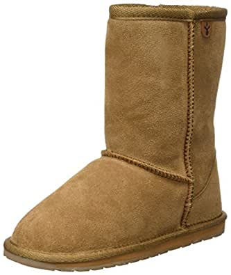 Emu Wallaby Lo,Unisex - Kinder Stiefel, Beige (Chestnut), 24 EU  (7 UK)