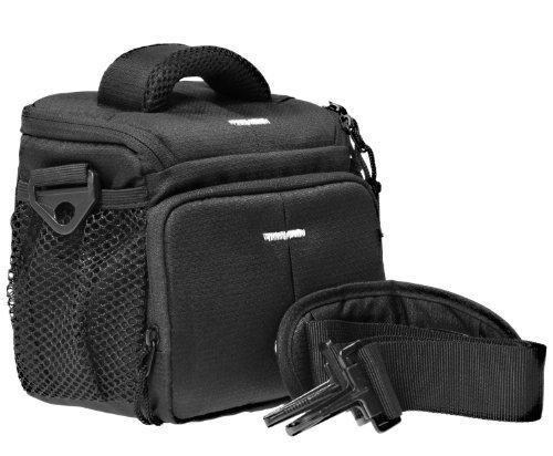 Foto Tasche Kamera Bag ACTION BLACK ONE für Panasonic Lumix DMC- FZ1000 FZ300 FZ200 FZ72