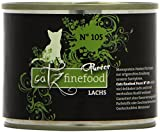 Catz finefood Purrrr No. 105 Lachs, 6er Pack (6 x 0.2 kg)