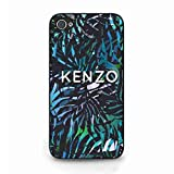 Kenzo Phone Coque For iPhone 4/iPhone 4S Phone Coque,Kenzo Logo Phone Coque,Hard Phone Coque,Luxury Brand Phone Coque