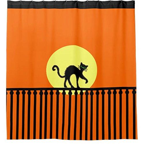whiangfsoo-gatto-nero-con-recinzione-in-giallo-luna-su-arancione-tenda-per-doccia-in-poliestere-impe