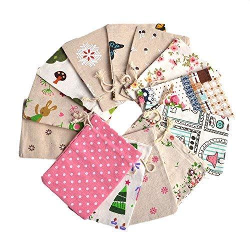 Zalago, sacchetto regalo in tessuto di organza per matrimonio, sacchettino per gioiello 10x 14cm, 25pz.
