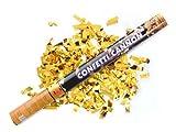Konfettikanone - Gold metallic