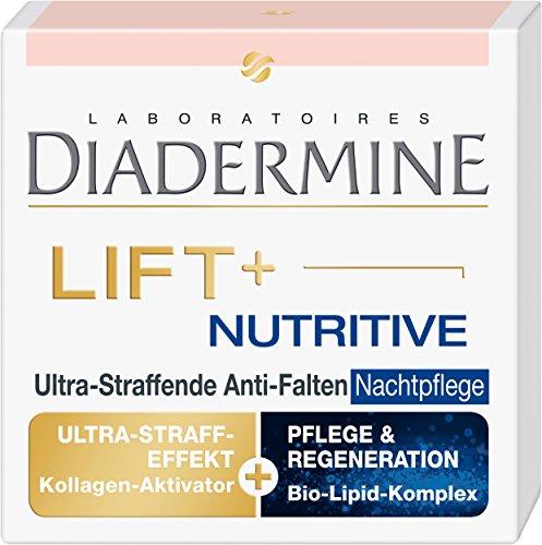 Diadermine Lift+ Nutritive Anti-Falten Nachtpflege, 1er Pack (1 x 50 ml)