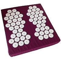 Akupressur-Fussmatte, 31x35x5 cm, 62 Stimulationskreisel mit je 33 Spitzen preisvergleich bei billige-tabletten.eu