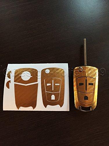 carbon-foil-decor-chrome-gold-key-for-opel-astra-h-gtc-b-vauxhall-vectra-c-corsa-d-vxr-zafira-opc-2-